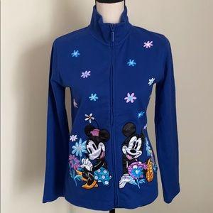 Disney Parks Women Mickey&Minnie Mouse Sweatshirt